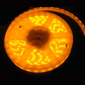 153 Foot Dimmable LED Yellow Tape Lights