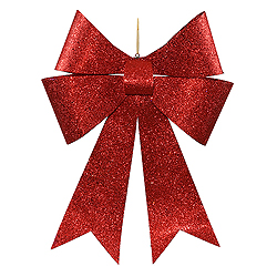 30 Inch Red Sequin Bow