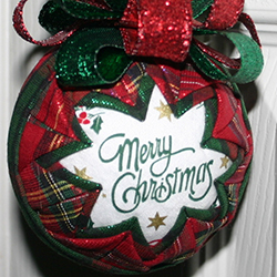 3 Inch Merry Christmas Ornament