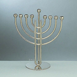 Modern Traditional Chanukah Menorah Box of 2