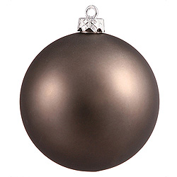 3 Inch Pewter Matte Round Ornament 12 per Set