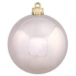 4 Inch Champagne Shiny Ornament
