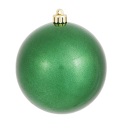8 Inch Green Candy Round Ornament