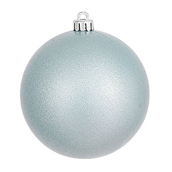 8 Inch Baby Blue Candy Round Ornament