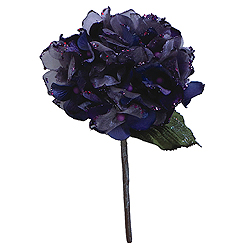 29 Inch Purple Velvet Hydrangea Artificial Flower Decoration