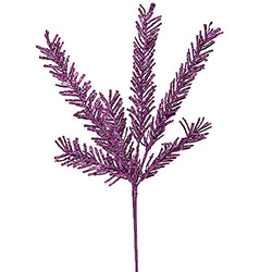 21 Inch Purple Rosemary Artificial Christmas Spray