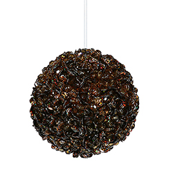 120MM Chocolate Sequin Ornament