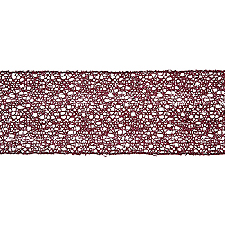 30 Foot Magenta Glitter Mesh Ribbon