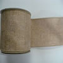 30 Foot Natural Mesh Gold Ribbon 2.5 Inch Width