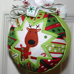 3 Inch Reindeer Party Ornament