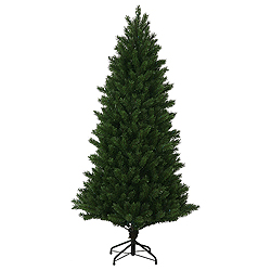 7.5 Foot Oregon Fir Instant Artificial Christmas Tree Unlit