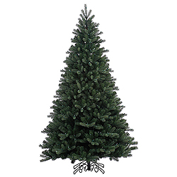 6.5 Foot Noble Spruce Instant Artificial Christmas Tree Unlit