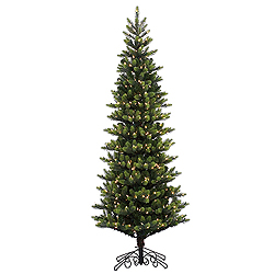 6.5 Foot Royal Instant Artificial Christmas Tree 400 LED Warm White Lights