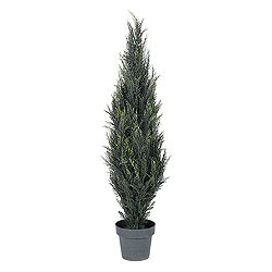 4 Foot Pond Cypress Potted Artificial Christmas Tree