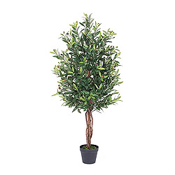 50 Inch Olive Potted Artificial Christmas Tree