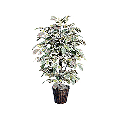 4 Foot Apple Bush Potted Artificial Plant