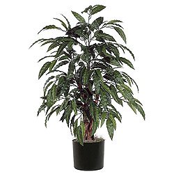 4 Foot Mango Bush Artificial Plant