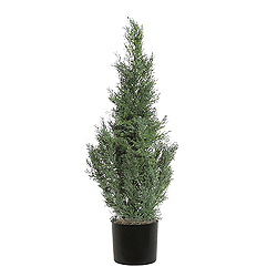 3 Foot Cedar Potted Artificial Plant
