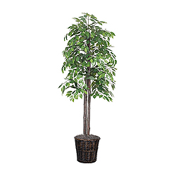 6 Foot Ficus Potted Artificial Plant