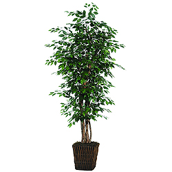 6 Foot Ficus Executive Potter Artificial Plant