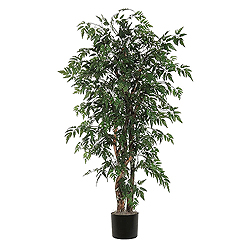 6 Foot Ming Aralia Executive Potted Artificial Plant