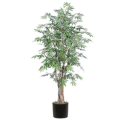 6 Foot Japanese Maple Executive Potter Artificial Plant
