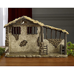 7 Inch Nativity Stable