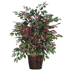 4 Foot Extra Full Capensia Potted Artificial Plant