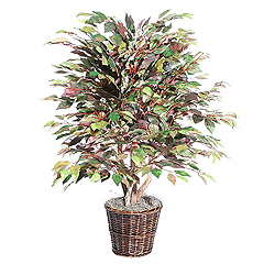 4 Foot Mystic Ficus Potted Artificial Plant