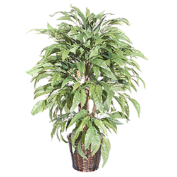 4 Foot Mango Potted Artificial Plant