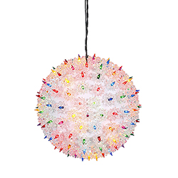 150 Multi Light 10 Inch Twinkle Star Sphere