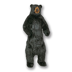 58 Inch Standing Black Bear Decoration