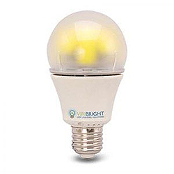 A19 LED Dimmable Warm White Retrofit Replacement Bulb 40W Incandescent Equivalent