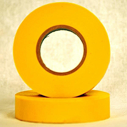 66 Foot Roll Of Yellow Electrical Tape