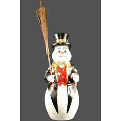 4 Foot Frosty Lawn Decoration