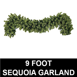 Sequoia 9 Foot Christmas Garland