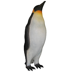 3.5 Foot Male King Penguin Decoration