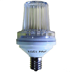 Pure White LED Strobe Light C9 Night Light Bulb