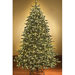 6 Foot Sequoia Artificial Christmas Tree 400 LED Warm White Lights