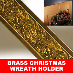 Brass Wreath Hanger