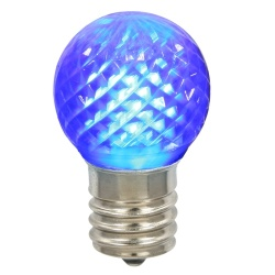 G40 LED Blue Retrofit Night Light Bulb Box of 25