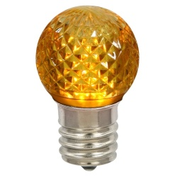 G40 LED Gold Retrofit Night Light Bulb Box of 25