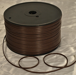 1000 Foot Brown Zipcord 18 Gauge Wire