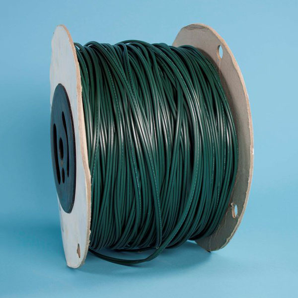 500 Foot Spool Green 18 Gauge SPT1 Custom Christmas Light Wire Only