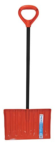 Bigfoot Poly Snow Shovel With Flat Blade - 2 Shovel Bulk Pack