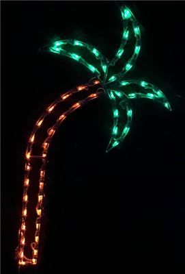 Small Palm Tree Lighted Outdoor Decoration