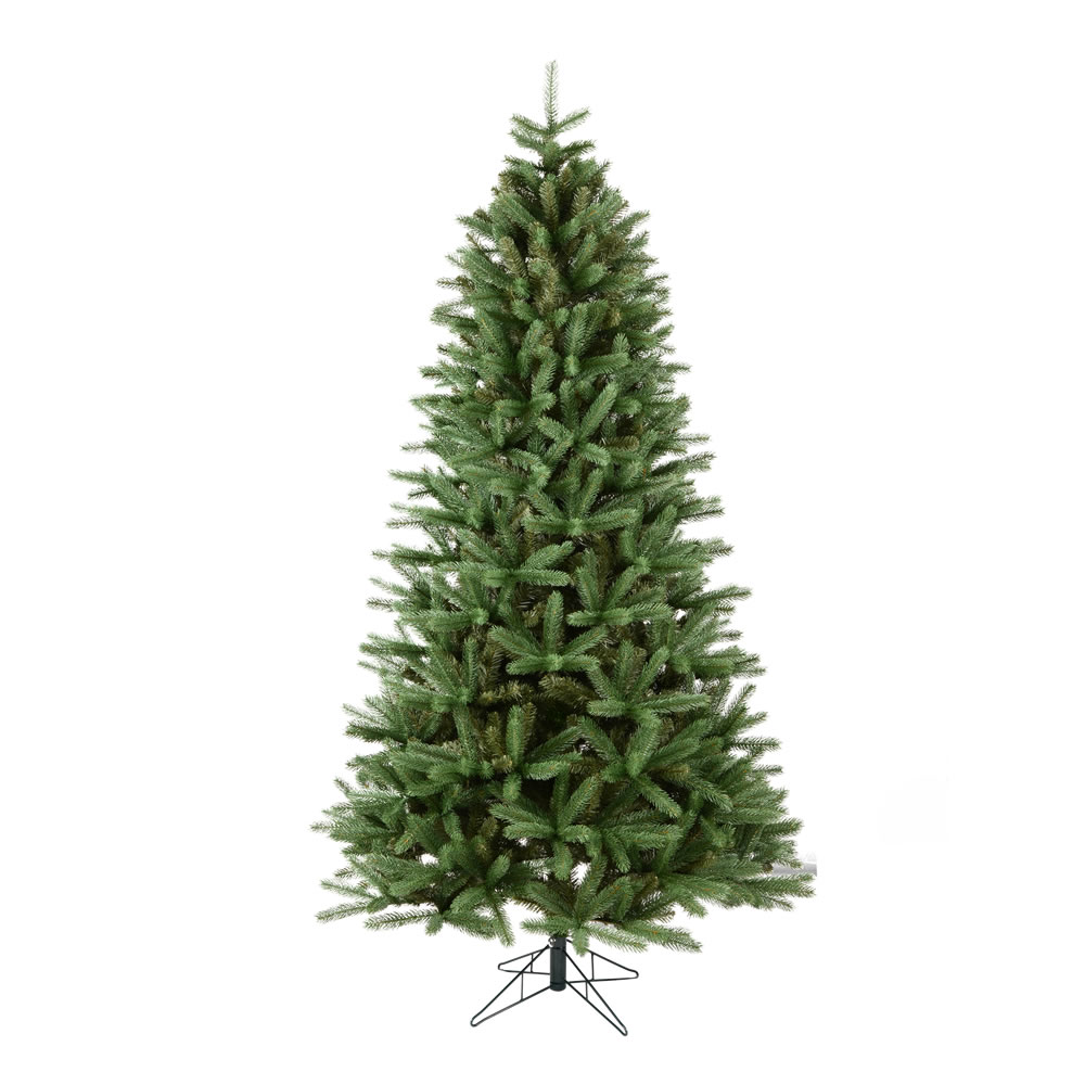 9 Foot Slim Colorado Spruce Artificial Christmas Tree Unlit