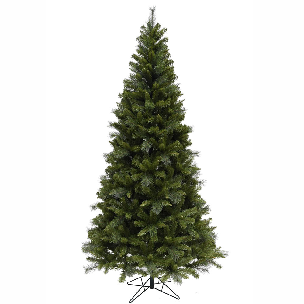 7.5 Foot Malvern Mixed Pine Artificial Christmas Tree Unlit
