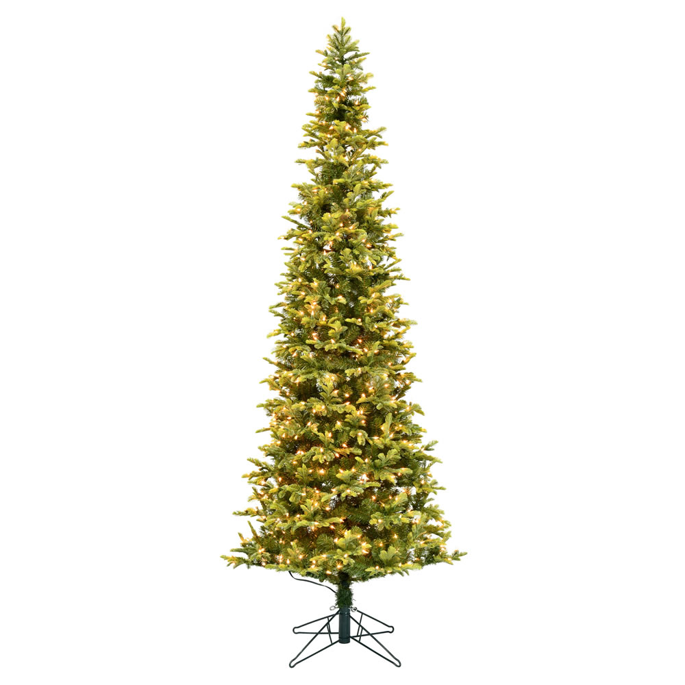 4.5 Foot Belmont Balsam Pencil Fir Artificial Christmas Tree - 150 DuraLit Incandescent Clear Mini Lights