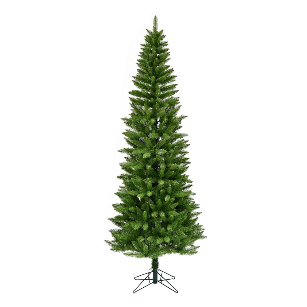 7.5 Foot Creswell Pine Pencil Artificial Christmas Tree - Unlit